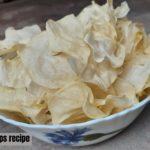 Aloo Chips Recipe