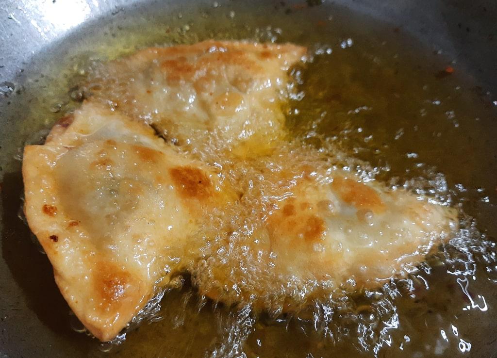 fry samosa