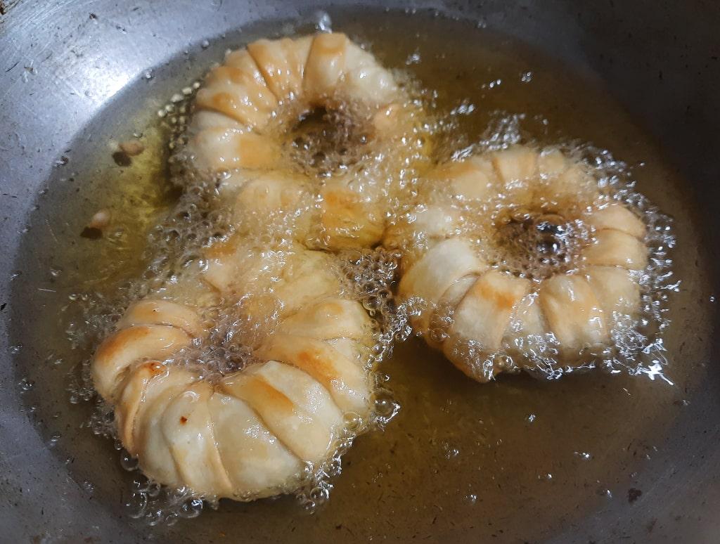 frying ring samosa