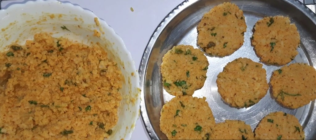 make rice cutlet